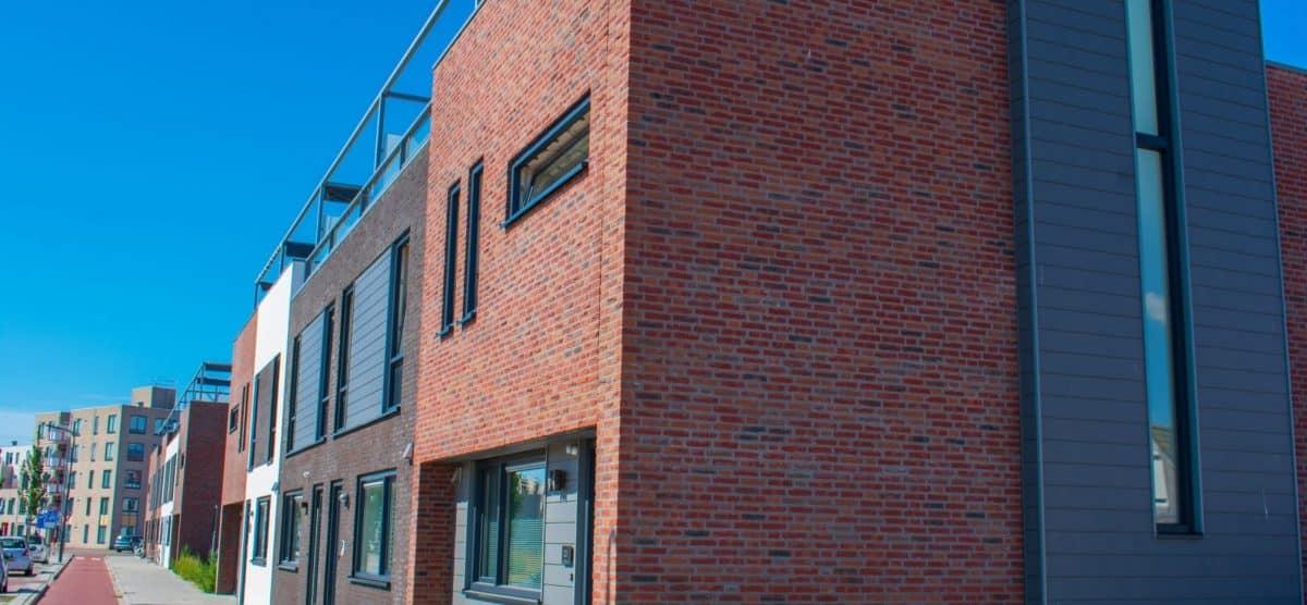 Stadswoningen Willem Ruysstraat Vlissingen