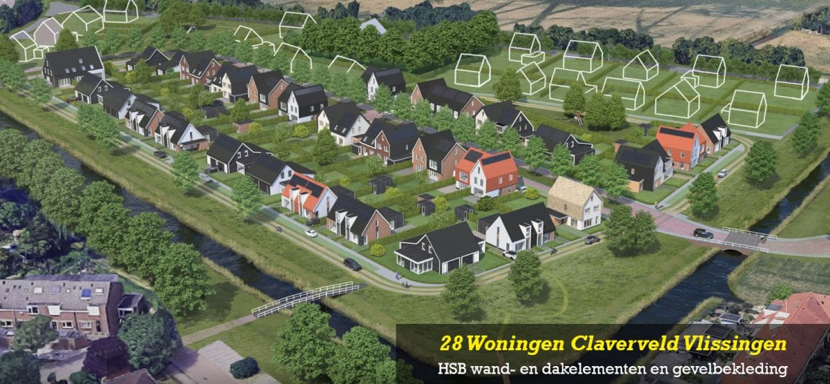 28 Woningen Claverveld Vlissingen