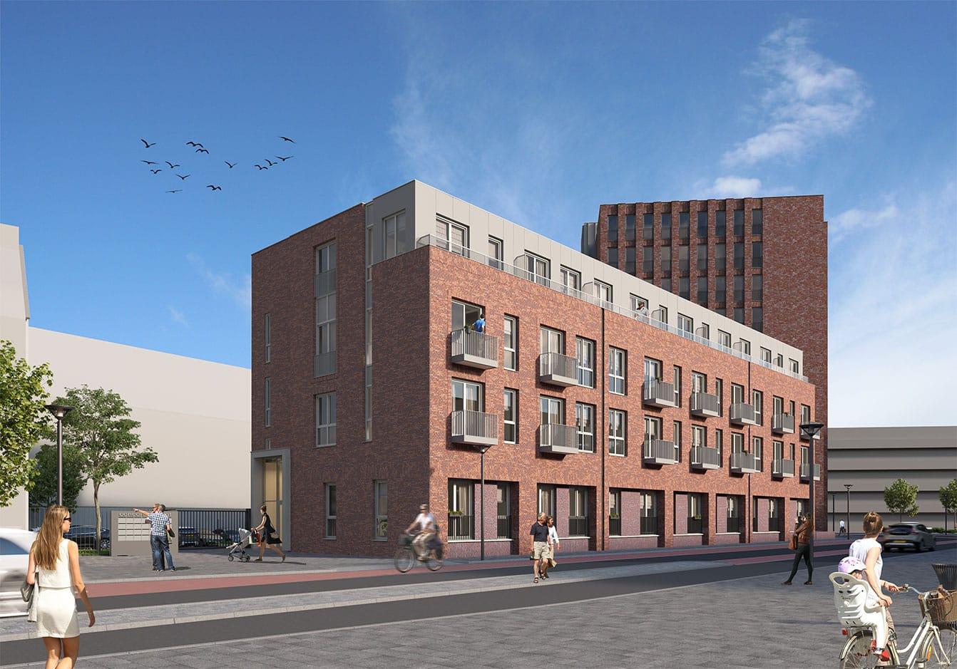 Jongerenhuisvesting Markendaalseweg Breda