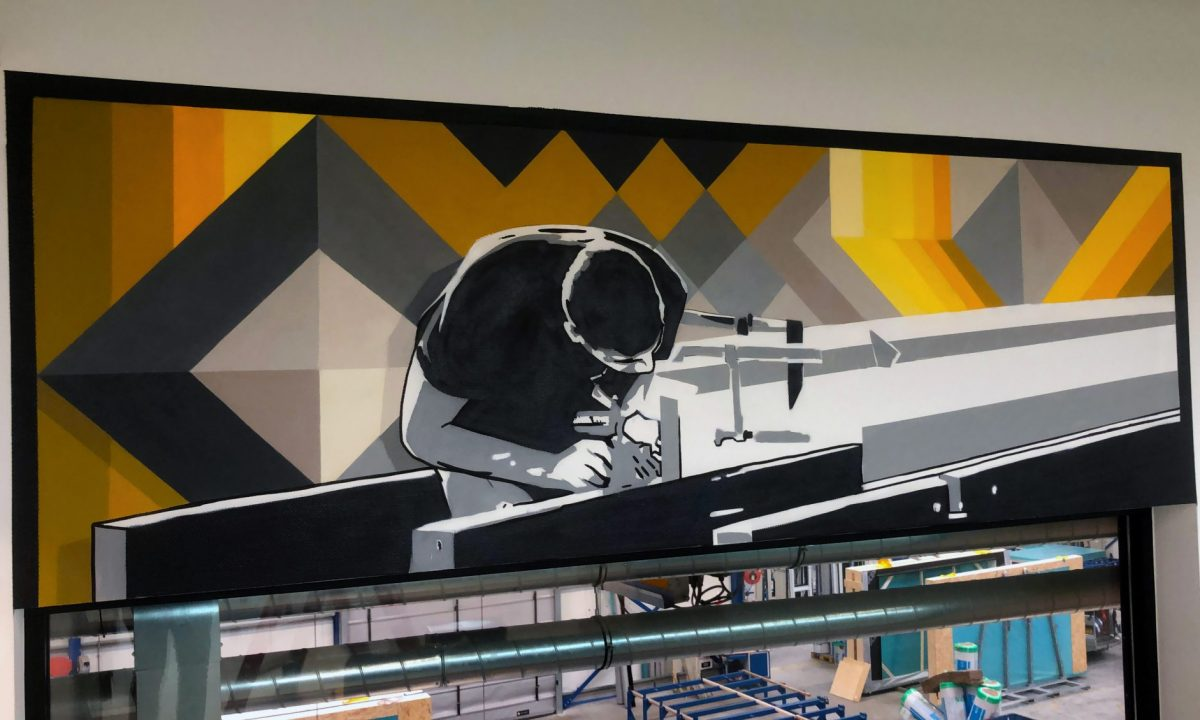 Muurschilderingen Kantoor
